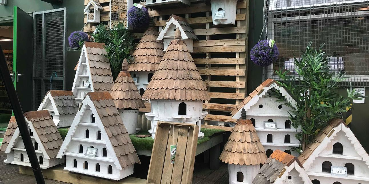 Beautiful Birdhouses! - 15% off our entire range of Birdhouses!