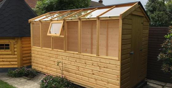 Buildings, Sheds, Greenhouses & Logstores