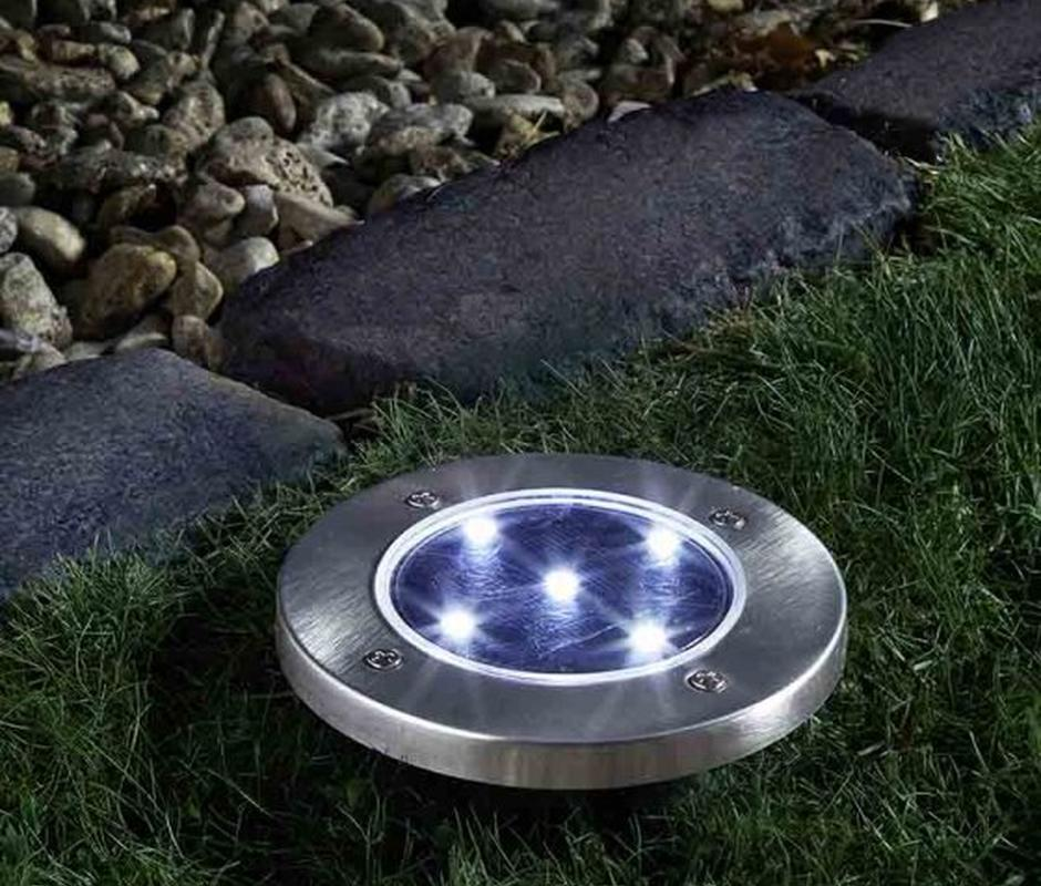 Solar 'Up' Light -