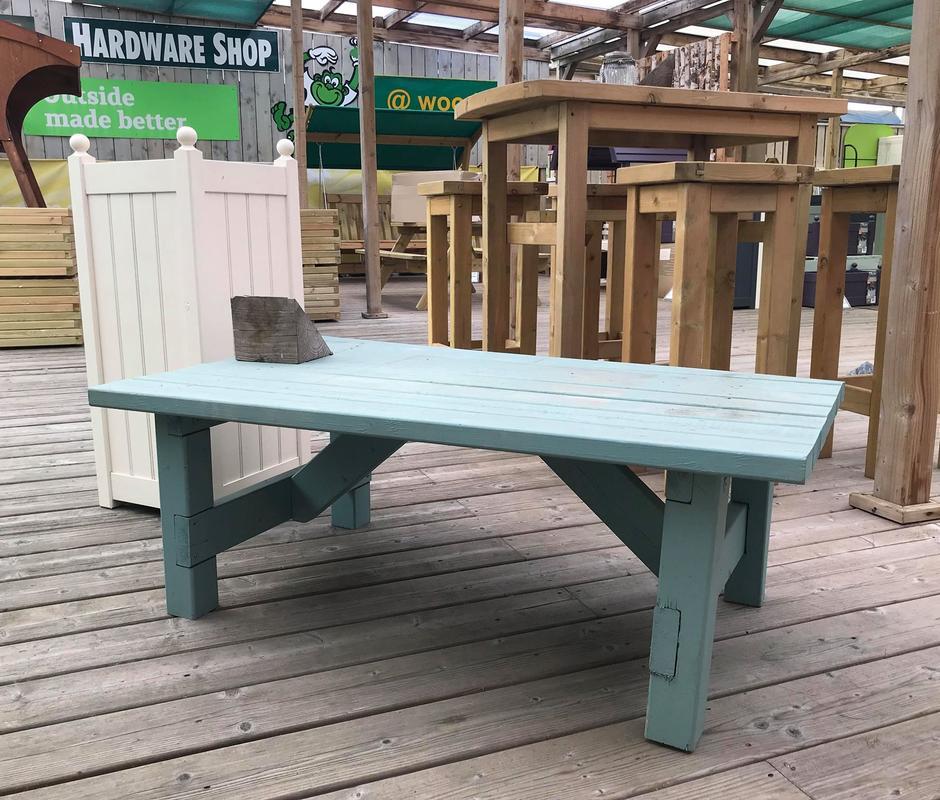 Adirondack Coffee Table Set: Outside Made Better